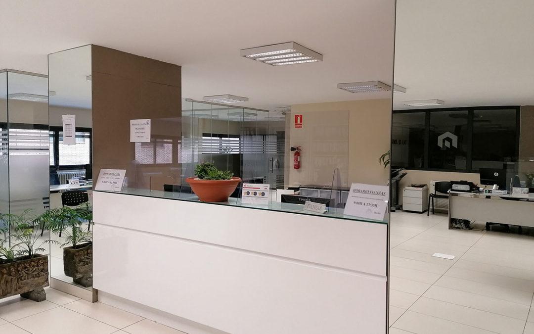 Nuestras oficinas en tiempos de COVID-19